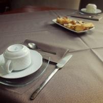 la colazione con prodotti casalinghi